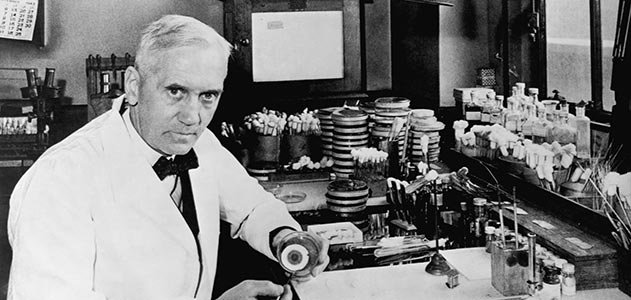 Sir Alexander Fleming & Co.