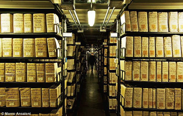 The Vatican Secret Archives: Just a few people are allowed to go there