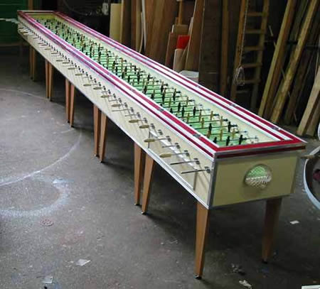 World's largest football table