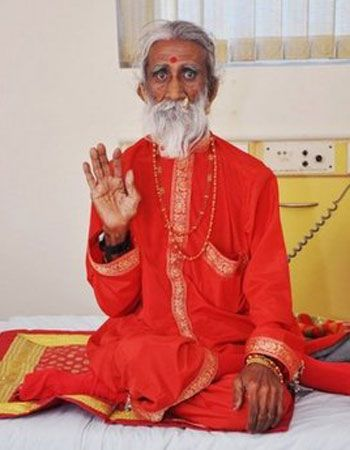 Yogi lives seven decades without food and water