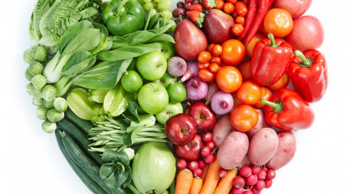 Develop the habit of eating multi-colored vegetables
