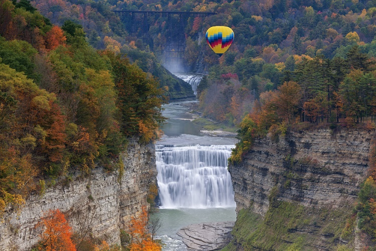 Letchworth State Park, New York, USA