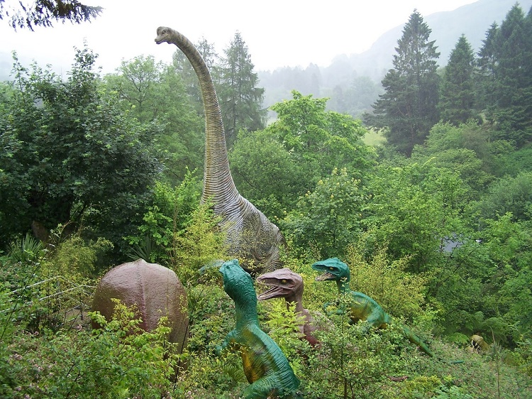 Since the forests were full of plants and animals that time, they served as perfect hiding place for dinosaurs.