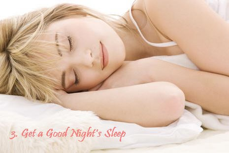 Sleep 7-8 hours to reduce fat