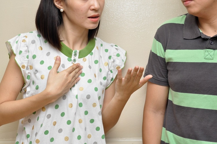 To handle the situation in a better way it is good to talk with your partner