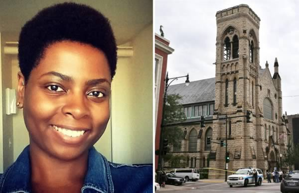 Falling Gargoyle Stone Falls from Church Killing a Young Mother of Two