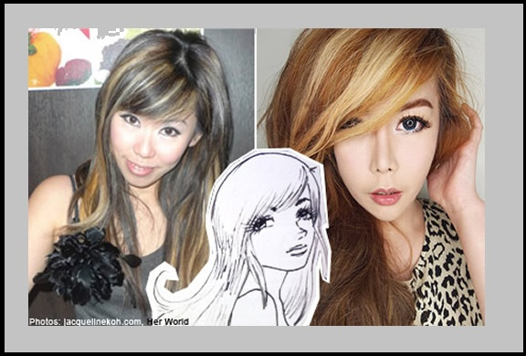 Girl from Singapore had ten surgeries in order to look like Anime girl