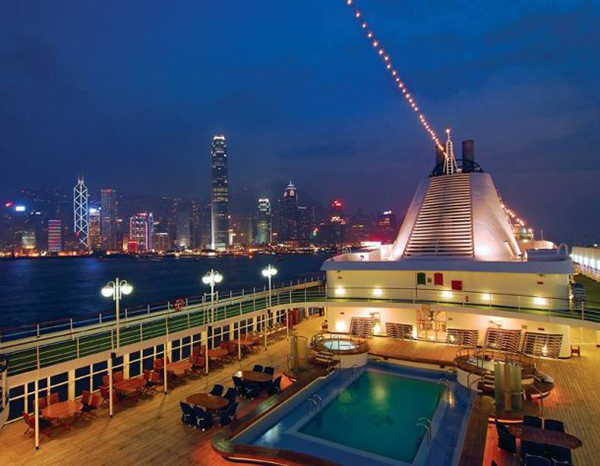 Luxurious cruise that covers 49 ports