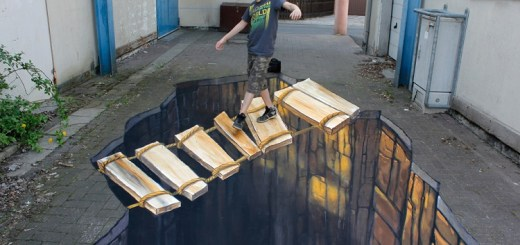 Most amazing and beautiful 3D street arts in the world