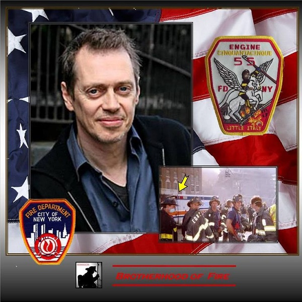 Steve Buscemi was a firefighter