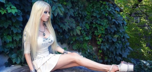 These are the Living Barbie Dolls