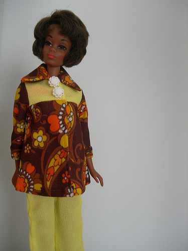 Christie, Barbie's first Afro-American friend