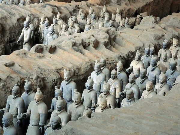 Emperor Qin Shi Huang's Pyramid and the Terracotta Army, China