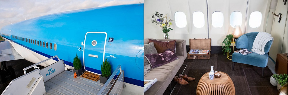 Rent Out Your Airplane Apartment For Your Next Vacation