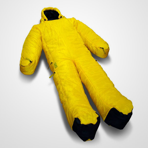 Sleeping Bags… with Arm and Leg Openings