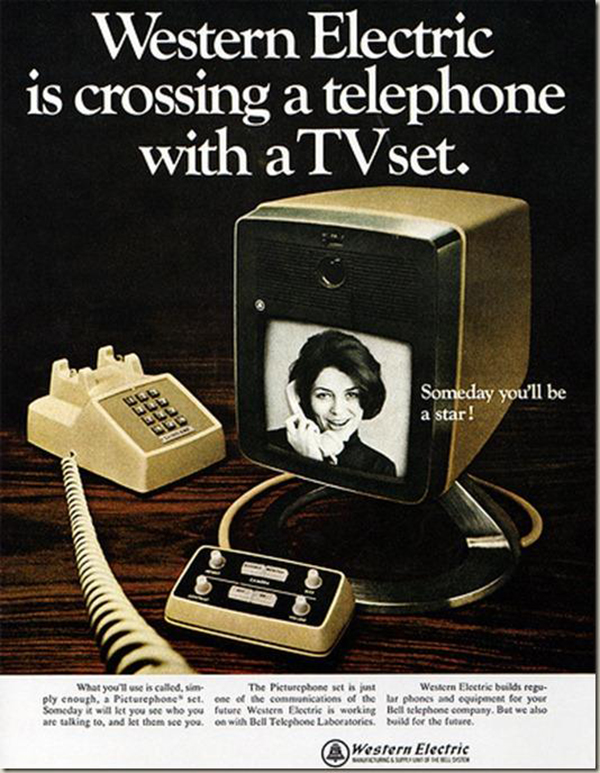The First Video Phone Built by Western Electric