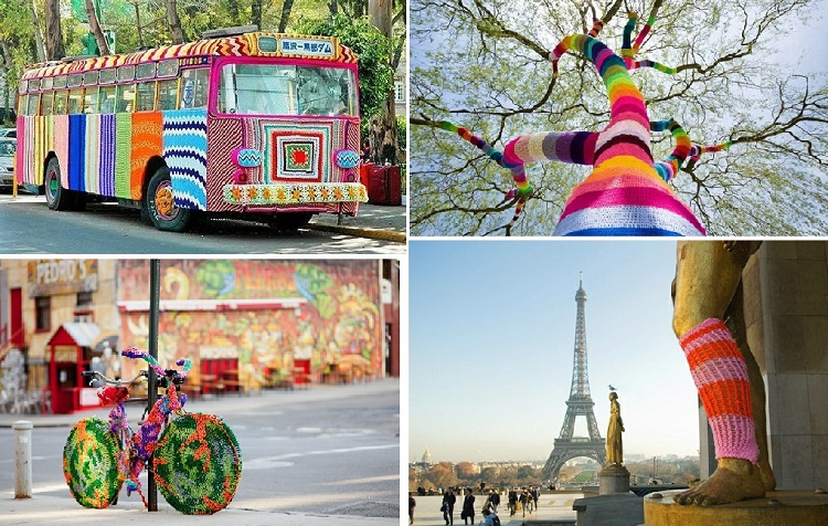 National Yarn Bombing Day