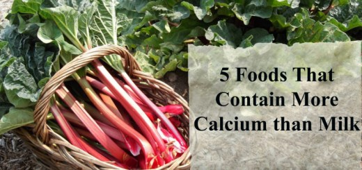 5 Foods that contain more calcium than milk