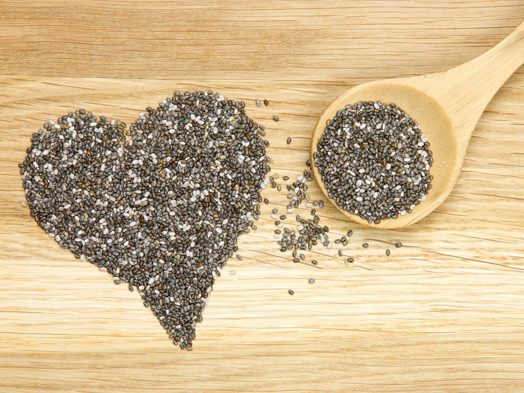 Chia seeds are great source of antioxidants
