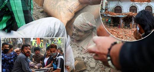 2 Days of terror Nepal earthquake