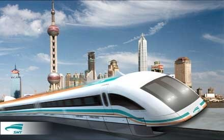 The maglev trains around the world