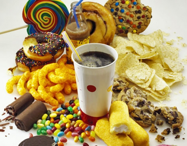 Eating junk food is your partner in crime