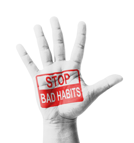 Give up bad habits