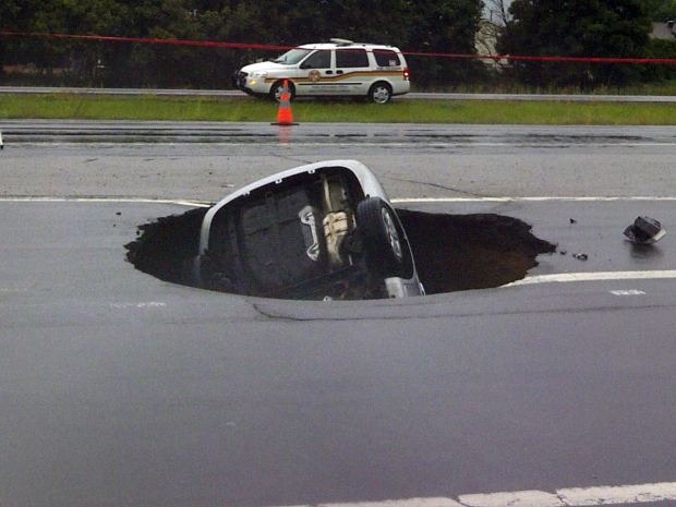 It's A Hole Wide Enough For The 2016 Olympics!