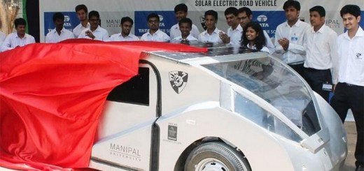 Solar powered car - The hope of future by Indian students