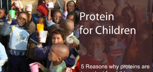 5 Reasons why proteins are important for children..