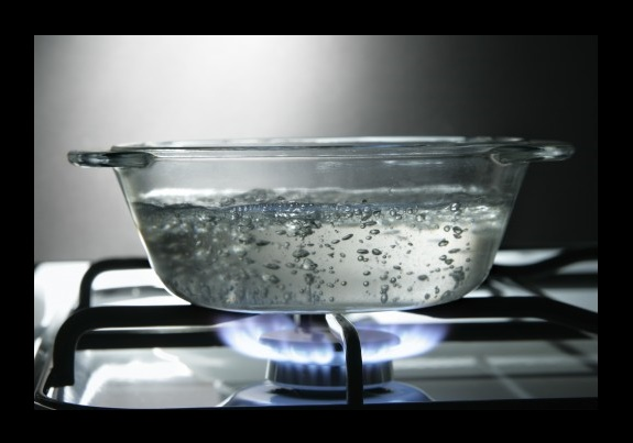 Your body heat can boil gallons of water