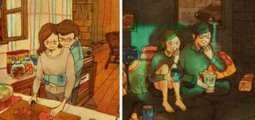 Moments of real love captured beautifully by Korean Artist