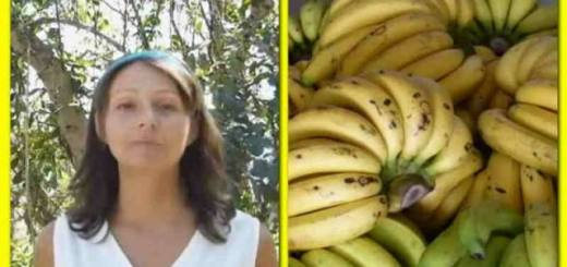 Woman goes on a 12 day banana