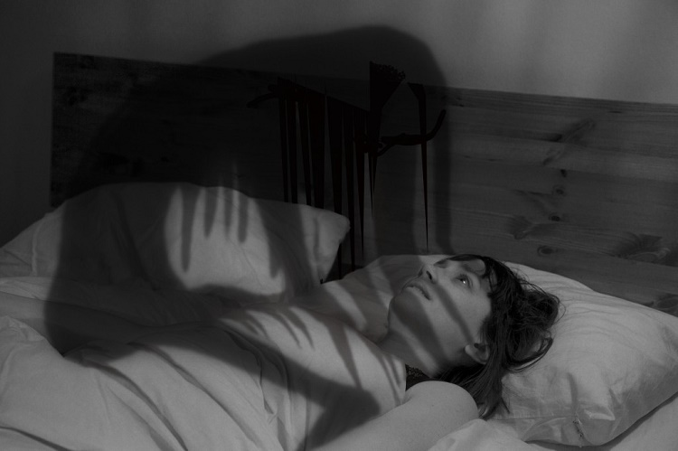 You can hallucinate when in sleep paralysis