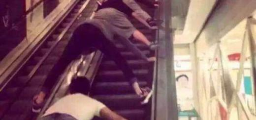A terrible incident has changed the way people of China now use escalators
