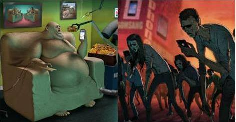 Realities of a fast changing World - illustrated by Steve Cutts