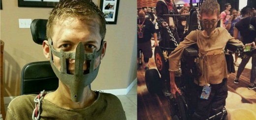 See how an engineering student turned his wheelchair into epic Mad Max cosplay
