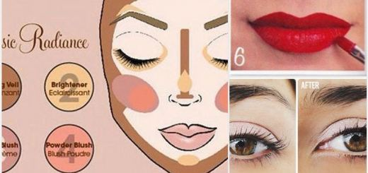 10 Diagrams to learn for better makeup technique