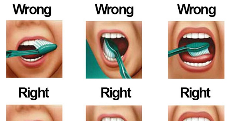 Well it turns out that we have brushing our teeth the ...