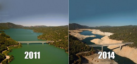 7 Images showing some real and very disturbing effects of global warming