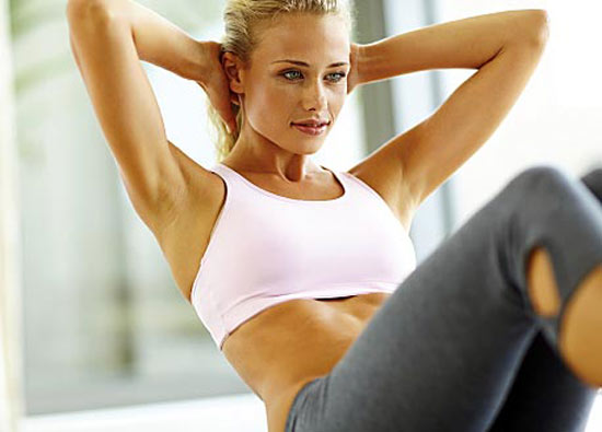 Exercise to reduce the visibility of cellulite