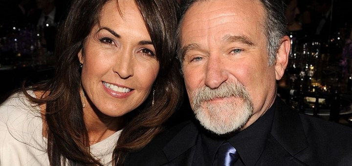 Susan Schneider offers the most beautiful and emotional rendition, talks about Robin Williams' death
