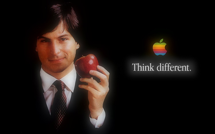 Think different by Steve Jobs