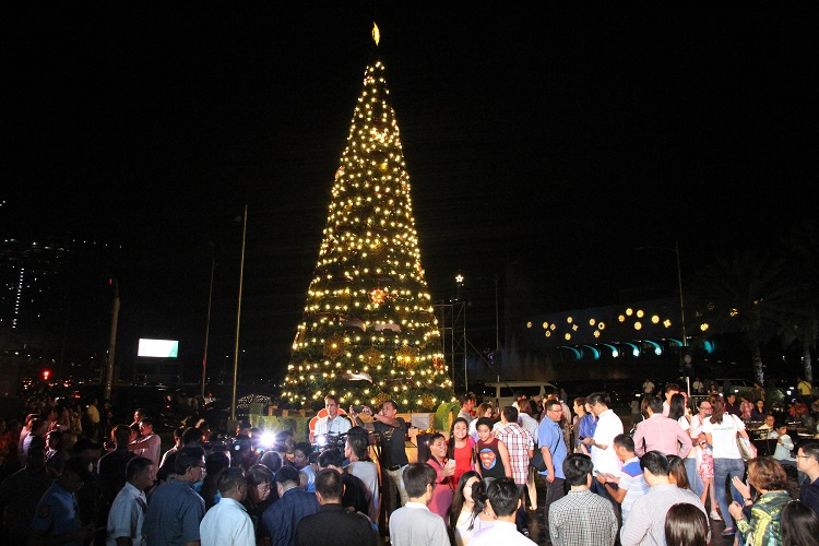 Christmas Tree at Quezon City, Philippines