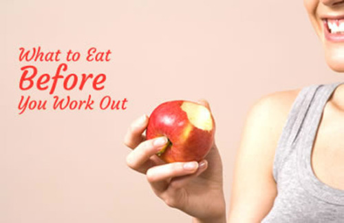 Ideal Foods to Eat Before a Work Out!