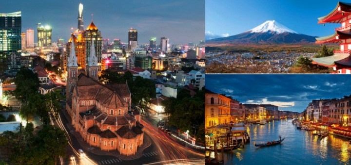 The most beautiful countries of the world - Visit them to have an experience of a lifetime!
