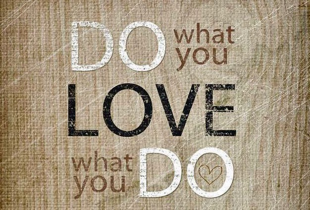 Work on something you love and are passionate about