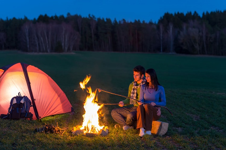 Adventure lovers can go hiking and camping