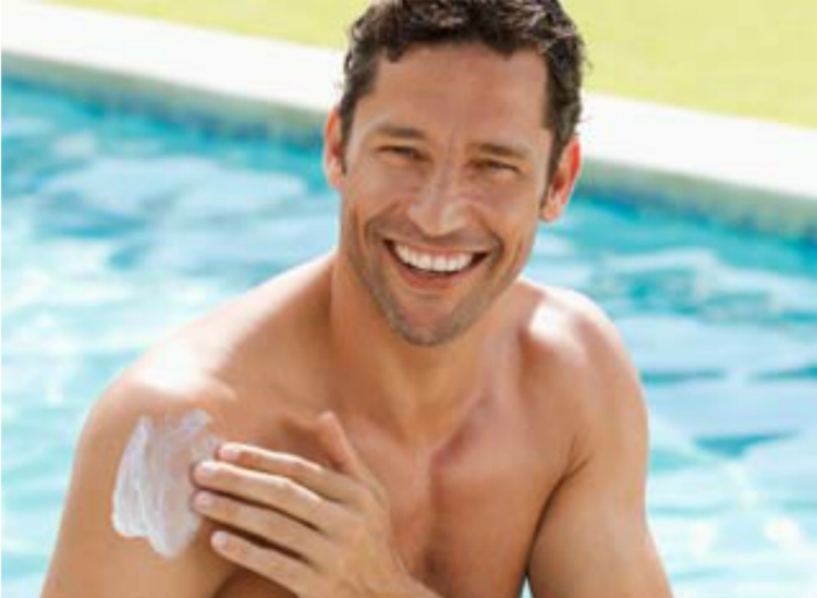 Can men avoid using sunscreen lotions?