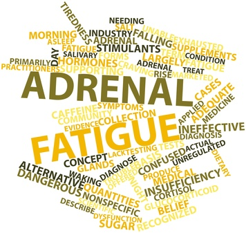 Look for adrenal fatigue